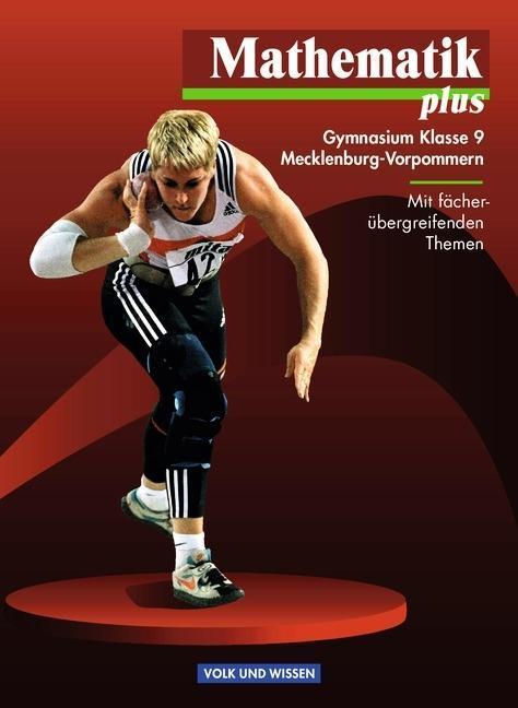 Mathematik plus 9. Lehrbuch. Mecklenburg-Vorpommern. Euro-Ausgabe als Buch