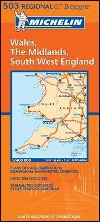 Wales, West Country, Midlands als Taschenbuch