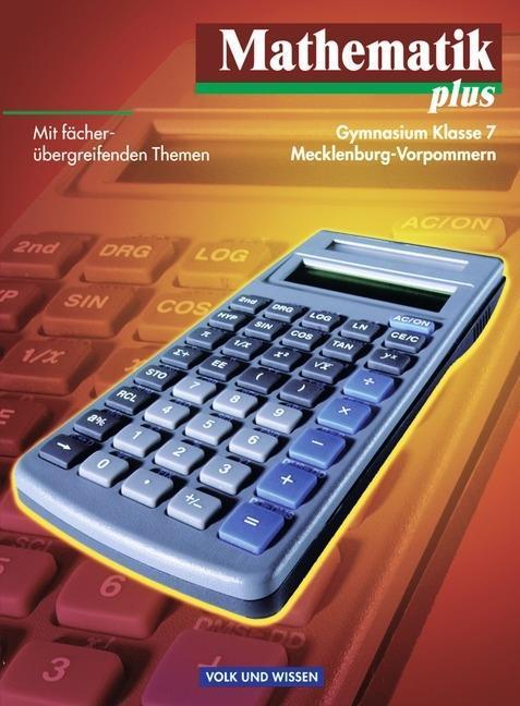 Mathematik plus 7. Lehrbuch. Mecklenburg-Vorpommern als Buch