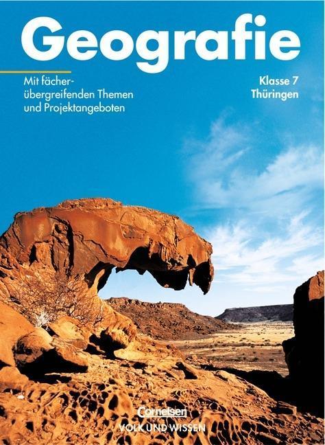 Geografie 7. Lehrbuch. Regelschule. Thüringen als Buch
