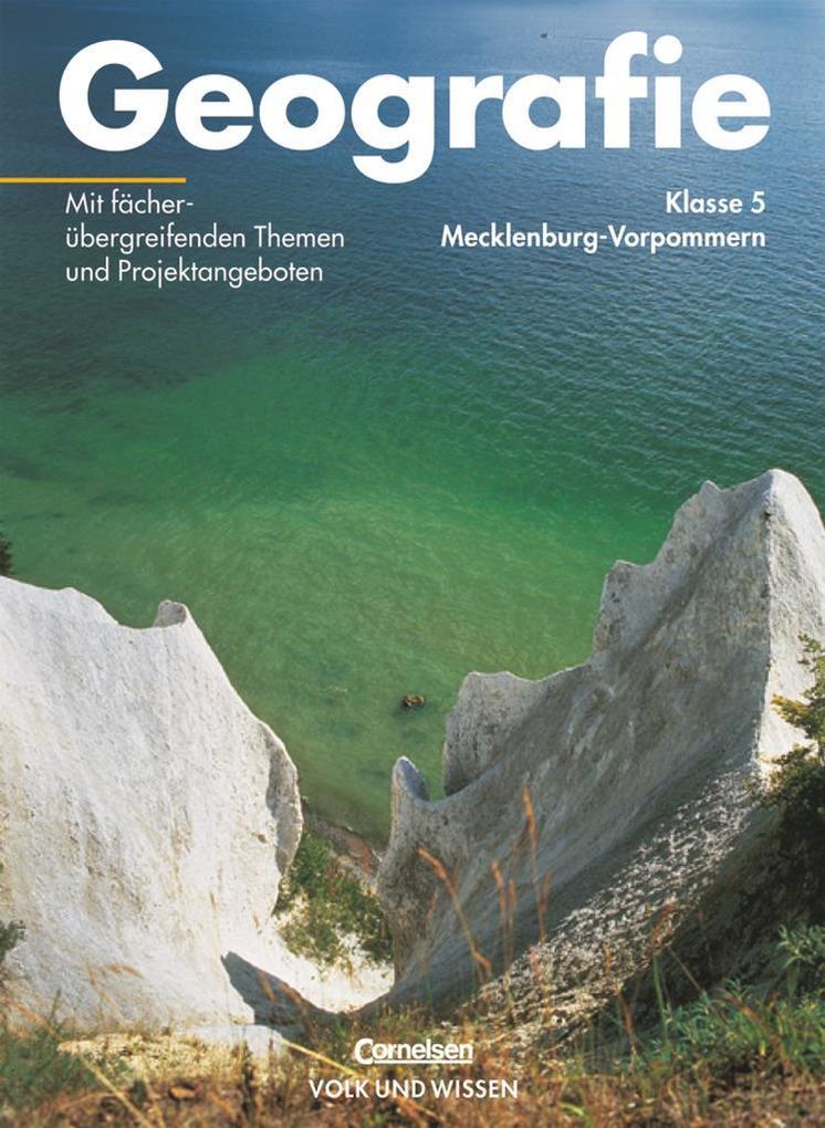Geografie 5. Lehrbuch. Mecklenburg-Vorpommern als Buch