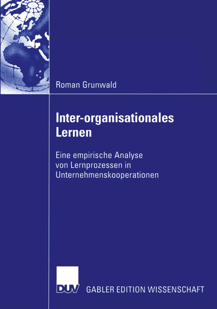 Inter-organisationales Lernen als Buch