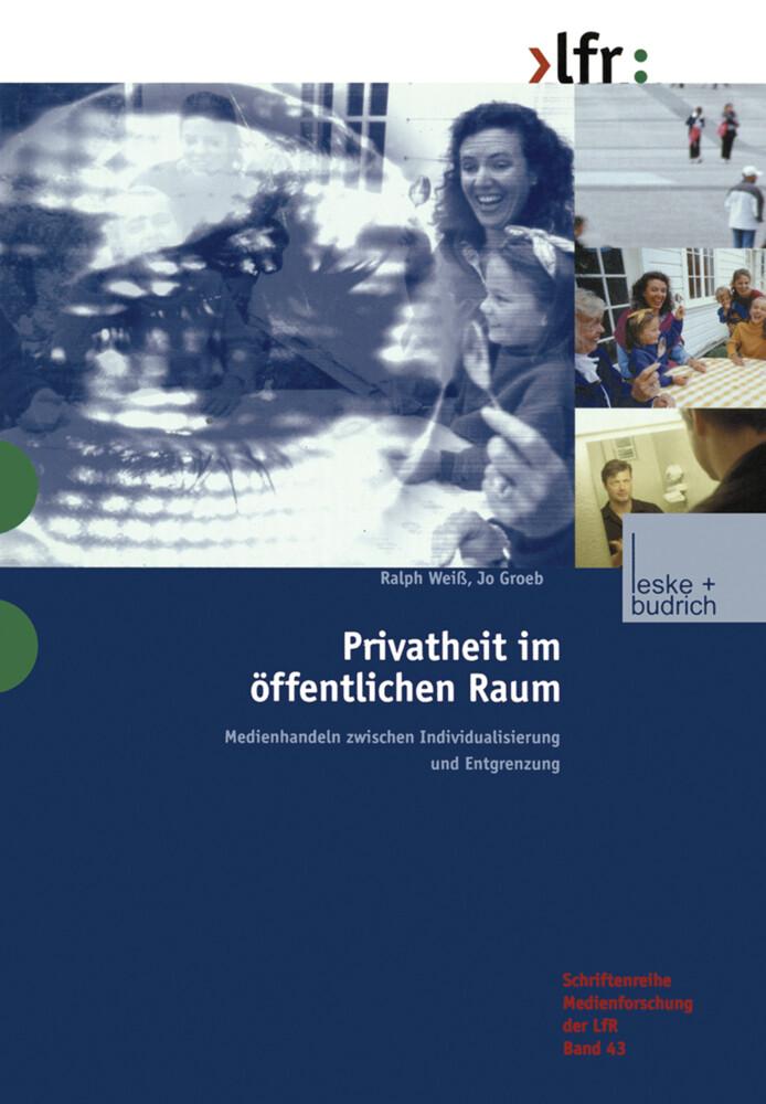 Privatheit im öffentlichen Raum als Buch