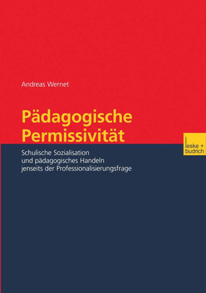Pädagogische Permissivität als Buch