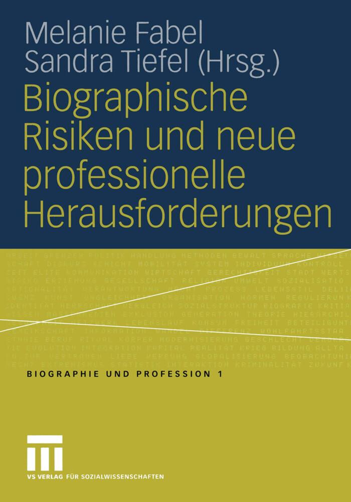 Biographische Risiken und neue professionelle Herausforderungen als Buch