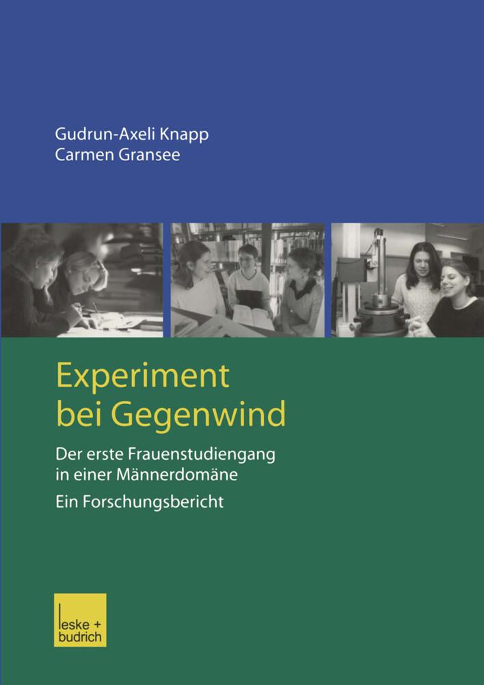 Experiment bei Gegenwind als Buch