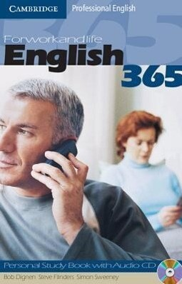 English365 1 Personal Study Book with Audio CD als Buch