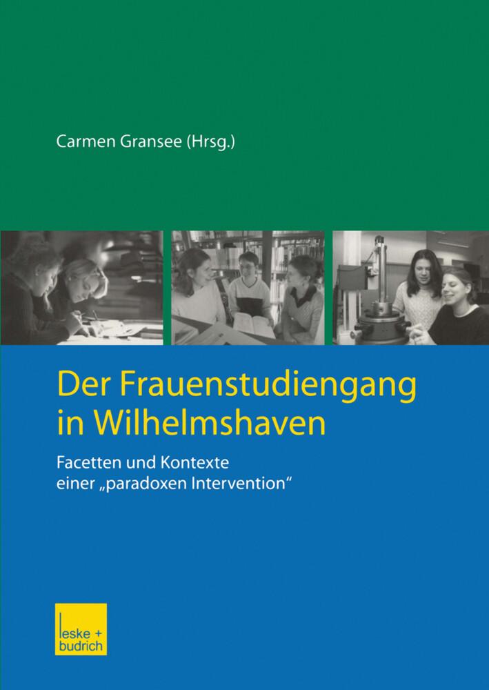 Der Frauenstudiengang in Wilhelmshaven als Buch