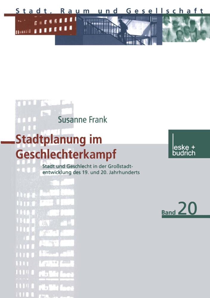 Stadtplanung im Geschlechterkampf als Buch