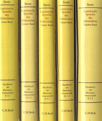 Handbuch zur lateinischen Sprache des Mittelalters, 5 Tle. als Buch