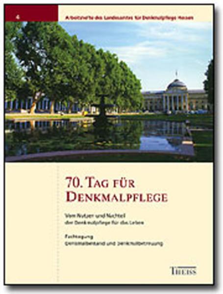 70. Tag für Denkmalpflege als Buch