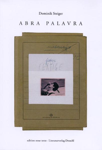 Abra Palavra als Buch