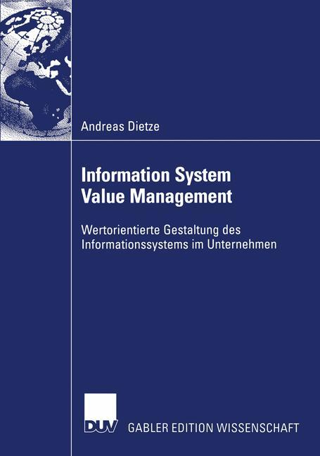 Information System Value Management als Buch
