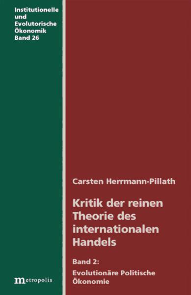 Kritik der reinen Theorie des internationalen Handels 2 als Buch