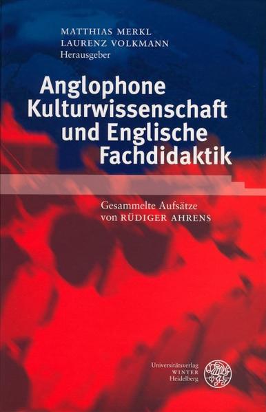 Anglophone Kulturwissenschaft und Englische Fachdidaktik als Buch