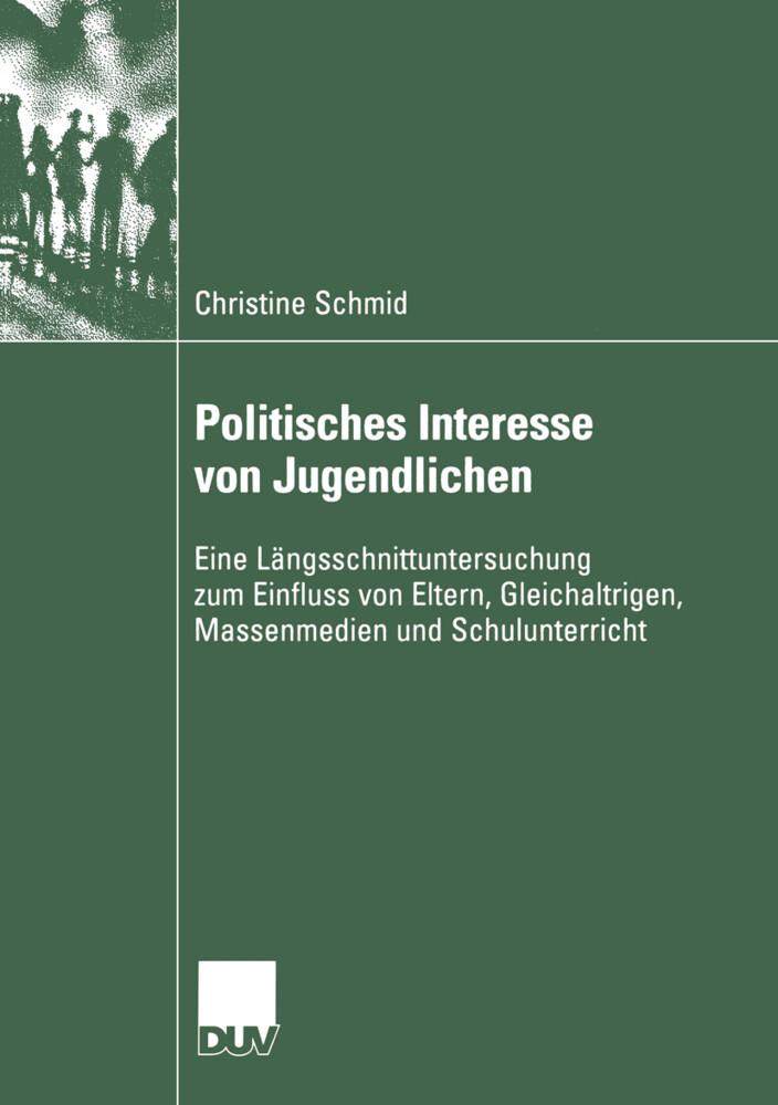 Politisches Interesse von Jugendlichen als Buch