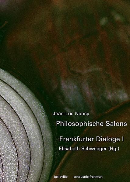 Philosophische Salons - Frankfurter Dialoge 1 als Buch