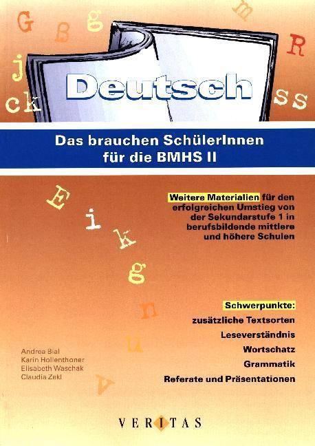 Deutsch: Das brauchen SchülerInnen für die BMHS II als Buch