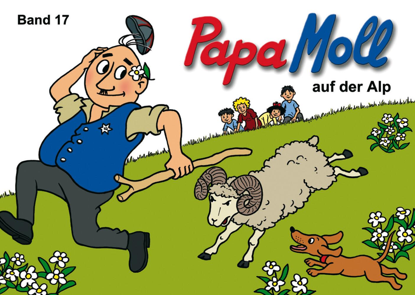 Papa Moll auf der Alp als Buch