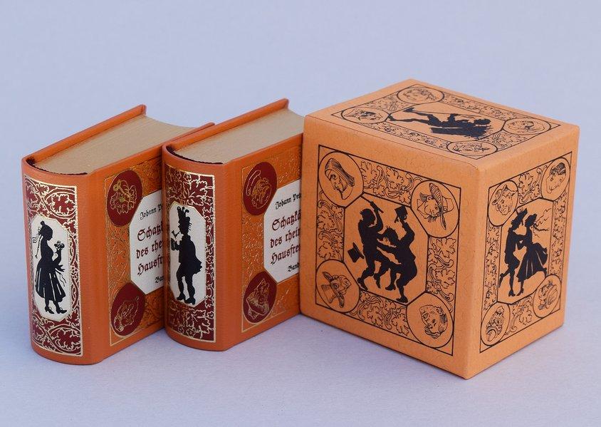 Schatzkästlein des rheinischen Hausfreundes (2 Bände) (VORZUGSAUSGABE) als Buch