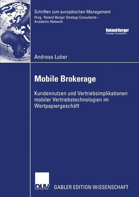 Mobile Brokerage als Buch