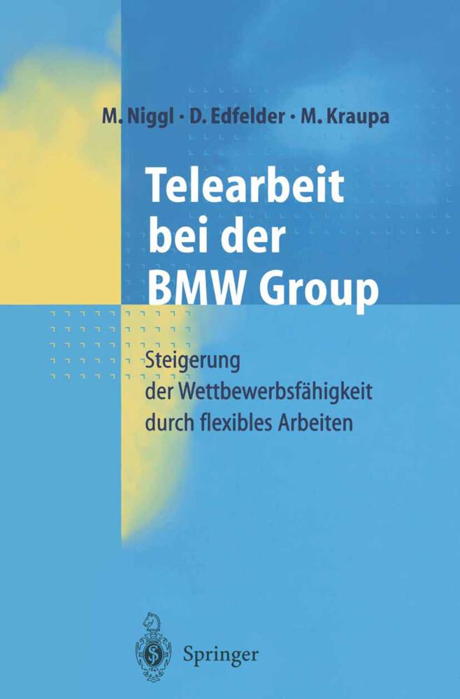 Telearbeit bei der BMW Group als Buch
