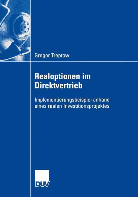 Realoptionen im Direktvertrieb als Buch