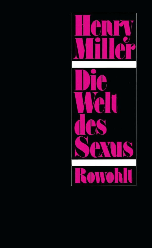 Die Welt des Sexus als Buch