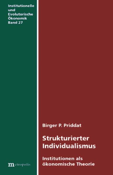 Strukturierter Individualismus als Buch