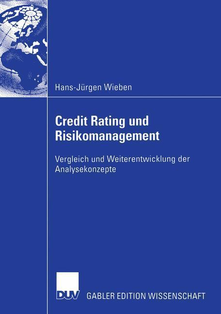 Credit Rating und Risikomanagement als Buch