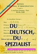 Du deutsch, du Spezialist