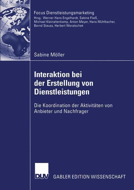 Interaktion bei der Erstellung von Dienstleistungen als Buch