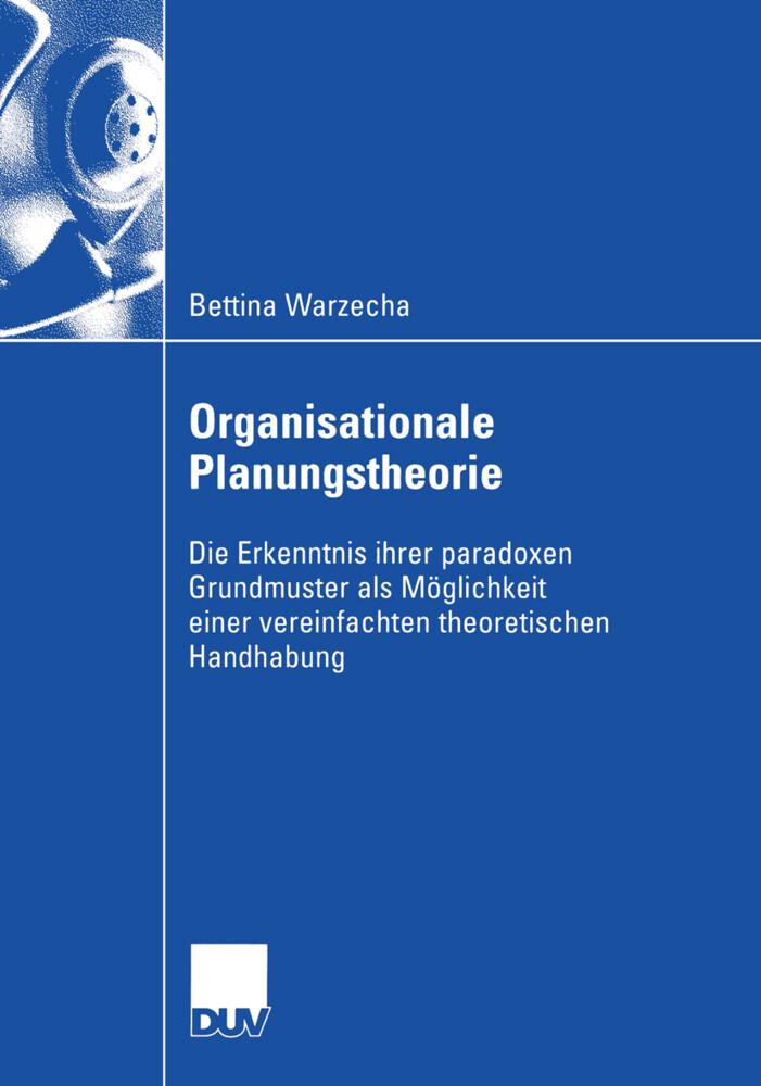 Organisationale Planungstheorie als Buch