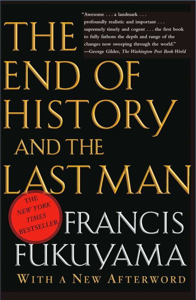 The End of the History and the Last Man als Buch