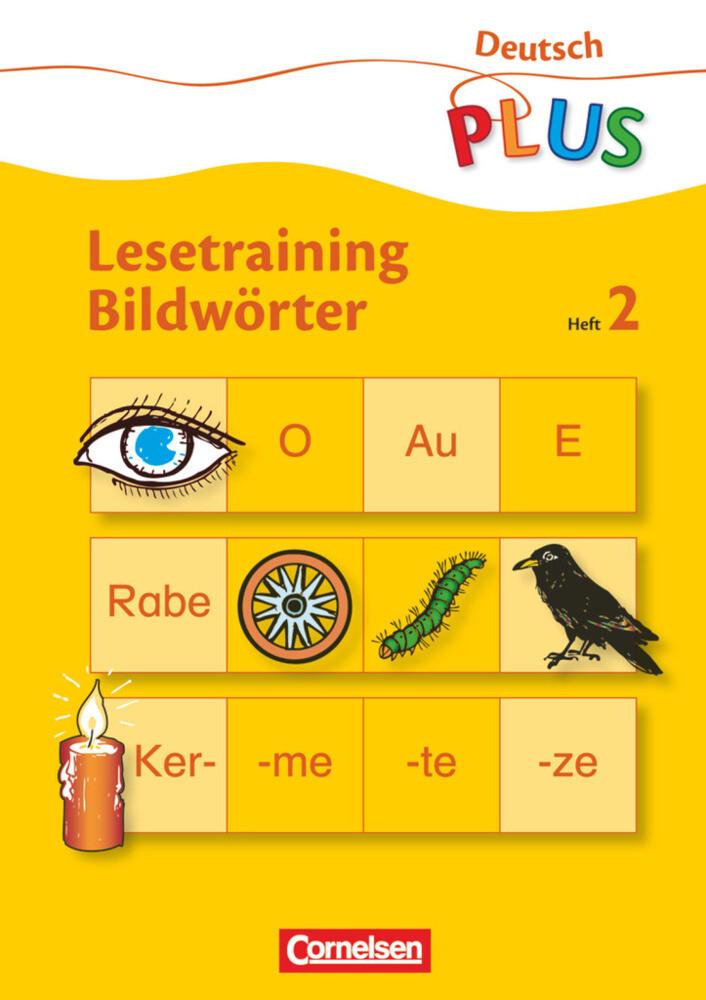 Lesetraining Bildwörter Heft 2 als Buch