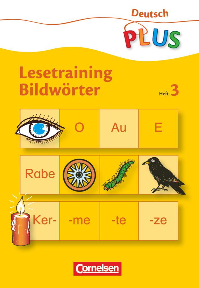 Lesetraining Bildwörter Heft 3 als Buch
