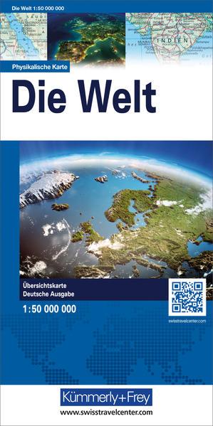 Die Welt. Physikalische Ausgabe 1 : 50 000 000 als Buch