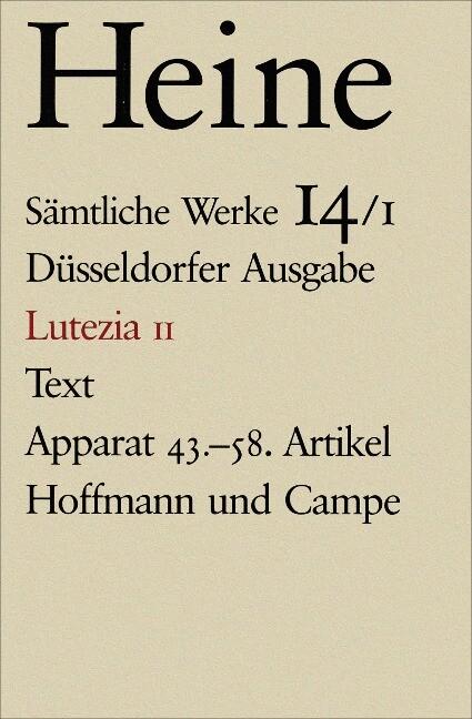 Lutezia II als Buch