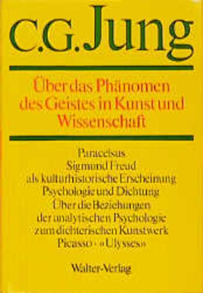 Gesammelte Werke 15. Über das Phänomen des Geistes in Kunst und Wissenschaft als Buch