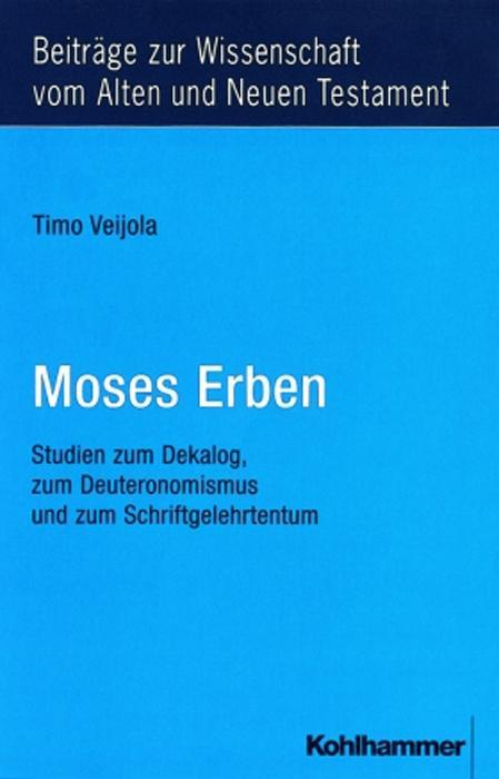 Moses Erben als Buch