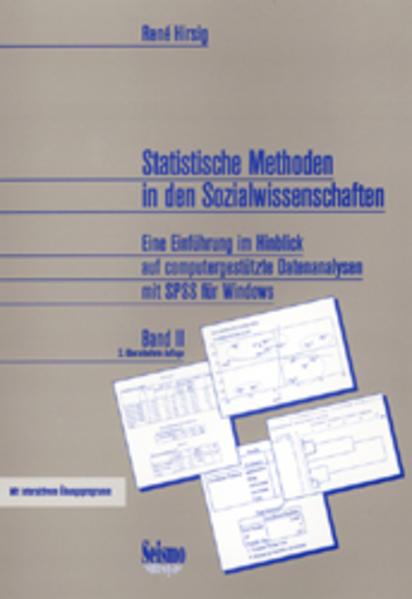 Statistische Methoden in den Sozialwissenschaften Band 2 als Buch