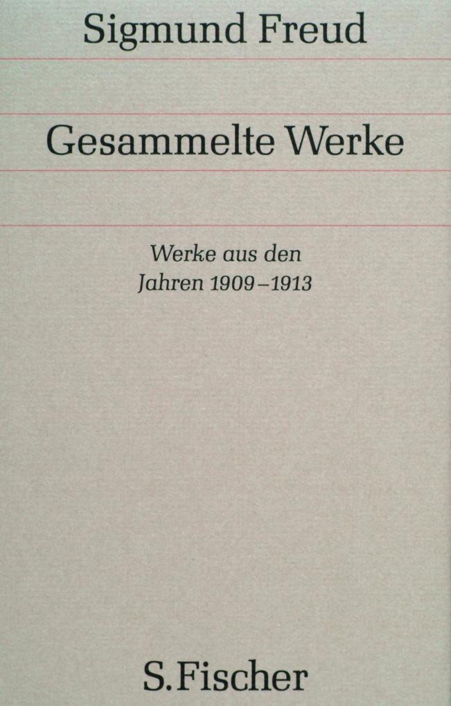 Werke aus den Jahren 1909 bis 1913 als Buch