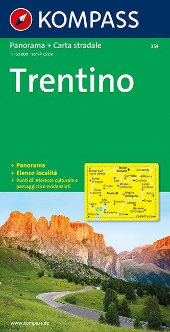 Trentino 1 : 150 000 als Buch