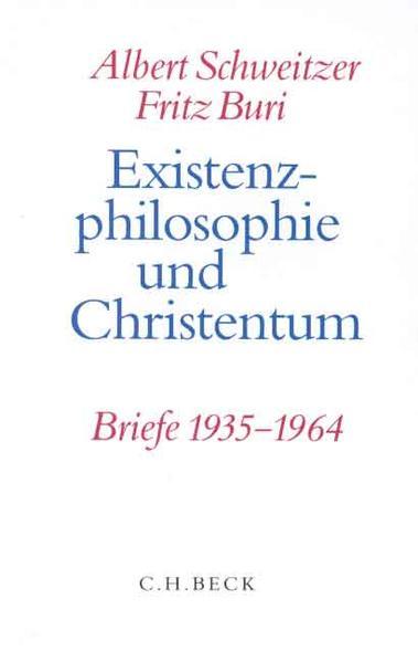 Existenzphilosophie und Christentum als Buch