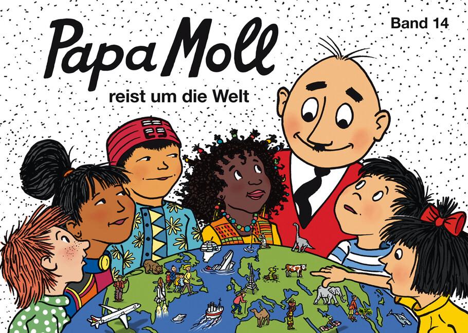 Papa Moll reist um die Welt als Buch