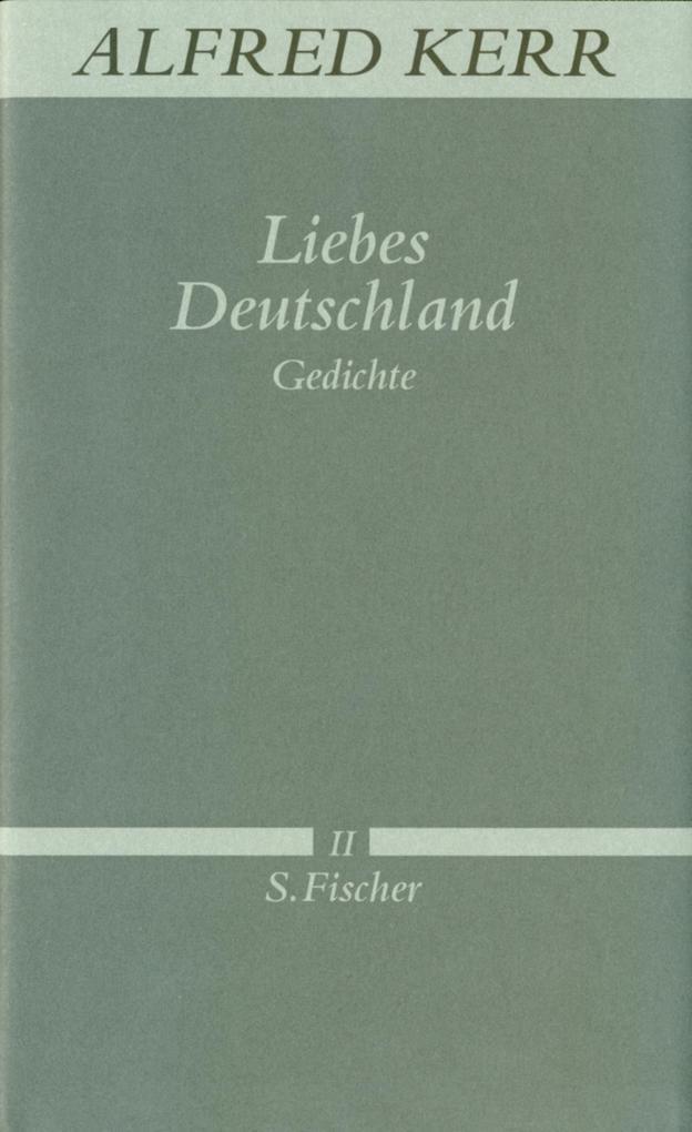 Liebes Deutschland als Buch