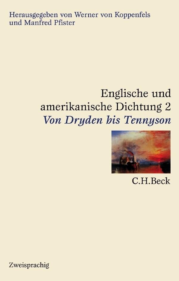 Von Dryden bis Tennyson als Buch