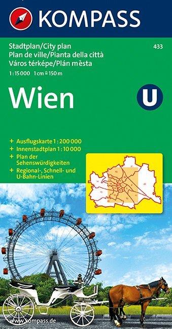 Wien Stadtplan 1 : 15 000 als Buch