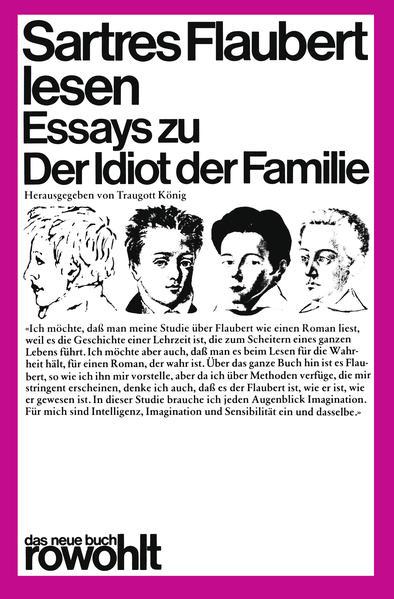 Sartres Flaubert lesen als Taschenbuch