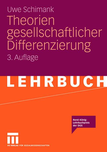 Theorien gesellschaftlicher Differenzierung als Buch